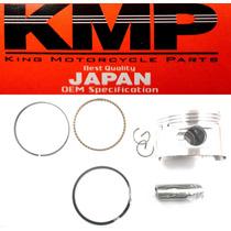 Pistão Kit Com Anéis Shineray 70cc 0,50mm ( Kmp )