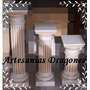 Columnas De Cemento !!! Patinadas 60cm Hay Mas Medidas