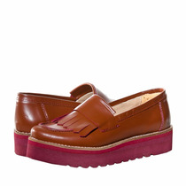 Xl Extra Large Calzado Chancy Nautico Color Habano Zapatos