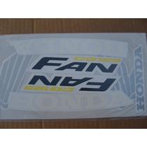 Honda Cg Fan 125 Juego Calcos Repuesto Simil Original