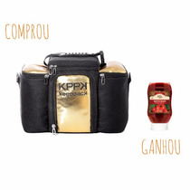 Bolsa Térmica Keeppack Max Gold & Silver + Brinde