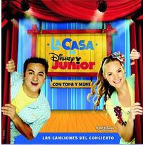 La Casa De Disney Junior Topa Y Muni Cd Original Clickmusics
