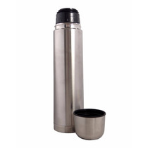 Garrafa Termica Metalizada 500ml Cafe Portatil Cha Inox