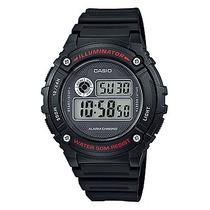 Relógio Casio W-216h Water Resistant 50m