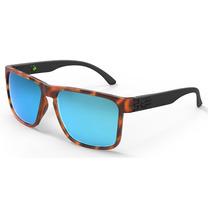 Óculos Mormaii Monterey Marrom Azul Solar Sol Espelhado Demi