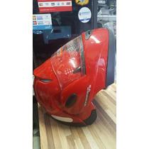 Capacete Escamoteável Taurus Zarref Robocop Vermelho