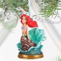 Disney Store Ornamento Navideño Ariel Sirenita Musical 2016