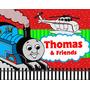 Kit Imprimible Thomas El Tren Mouse Diseñá Tarjetas, Cumples