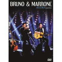 Bruno & Marrone Agora Ao Vivo Dvd+ Cd Lacrado Original
