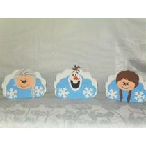 Enfeites Eva Frozen Kit Com 13 Porta Guardanapo