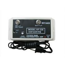 Amplificador De Señal De Cable Tv Miyako Usa De 36db