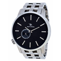 Reloj Rip Curl A2227-blk Detroit Acero Inoxidable Nuevo Caja