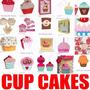 Arquivo Silhouette Cup Cake Aniversario Festas Decoraçoes