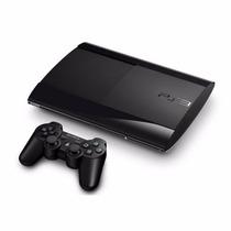 Sony Playstation 3 Ps3 Slim 500 Gb Con 2 Joysticks Envios