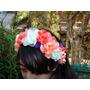 Tocados Para Novia 15 Años Fiestas Coronas De Flores Vinchas