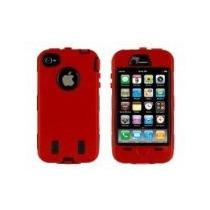 Estuche Para Celular Iphone 3g / 3gs Rojo
