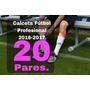 Calceta De Futbol Profesional 20 Par Envió Express Incluido