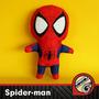 Spiderman Muñeco Spider Man Vellon Peluche Tela