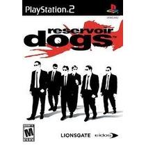 Reservoir Dogs Ps2 Patch Frete Unico