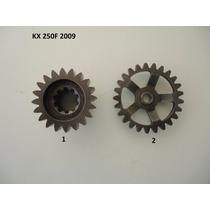 Engrenagem Motor Kx 250f Kxf Virabrequim Primaria Balanceiro