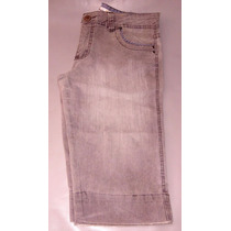 Bermuda Jeans Feminina - Com Elastano