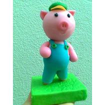 Cholito Amigo Del Sapo Pepe En Porcelana Fria