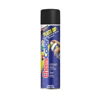 Kit Com 4 Tinta Spray Plastidip Preto Fosco 500 Ml 33023-0