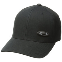 Oakley 100261 Gorra Deportiva Para Hombre, Color Negro, Unit
