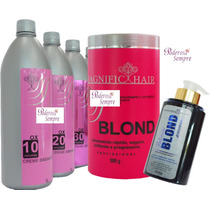Kit Magnific Hair, Po #rosa+ 3 Oxigenada 10,20,30+ Matizador