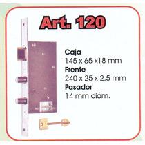 Cerradura Automatica Cierra Sola 120 Doble Paleta#