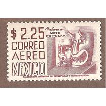 Mascaras Michoacán, Serie Arqueología Nuevo $2.25 C221