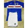 Camiseta Y Short Sampdoria Calidad Original! Ideal Equipos!!