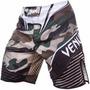 Short Mma Venum Modelo Venum Camo Hero Fight Shorts
