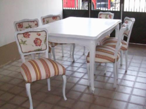 Mesas y sillas de comedor usadas casa dise o for Juego de mesa y sillas para cocina comedor