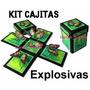 2x1 Kit Imprimible Invitaciones Recuerdos Cajitas Explosivas