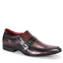 Sapato Social Masculino Rafarillo Magnum - Castanho