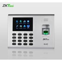 Biometrico De Acceso Y Asistencia Red/usb/ Pantallacolor K40