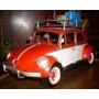Auto En Chapa Republica Antigua Escarabajo