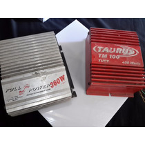 Par Módulo Automotivo Taurus Tm100 E Full Power.sem Testar.