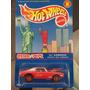 Hot Wheels - Camaro 67 - Kookie Red Camaro Llantas De Goma