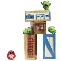 Angry Birds Vinilo Knockout Playset