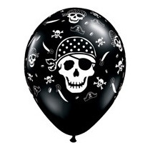 Globos Latex Jake Y Los Piratas Decoracion Cotillon