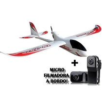 Aeromodelo Planador Gigante Phoenix C/ Câmera Controle 6ch