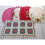 Tapetes Em Croche,barbante,artesanato,arte,presente,enxoval,