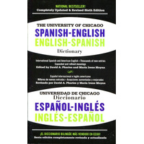 The University Of Chicago Esp - Ing / Eng - Spa - Dictionary