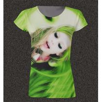 Remera Sublimada De Mujer Avril Lavigne Cs291