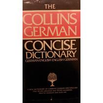 Dicionário Collins German Concise Dictionary German-english