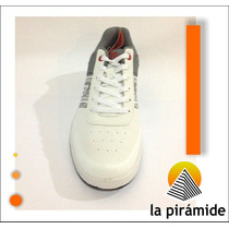Zapatos Rs21 Para Caballeros Blancos/gris