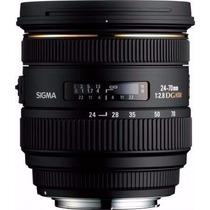 Lente Sigma 24-70mm F2.8 - Canon Ou Nikon Frete Gratis