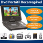 Dvd Portatil Tv 9 Bolsa E Games C/ 2 Joystick - Tv Digital